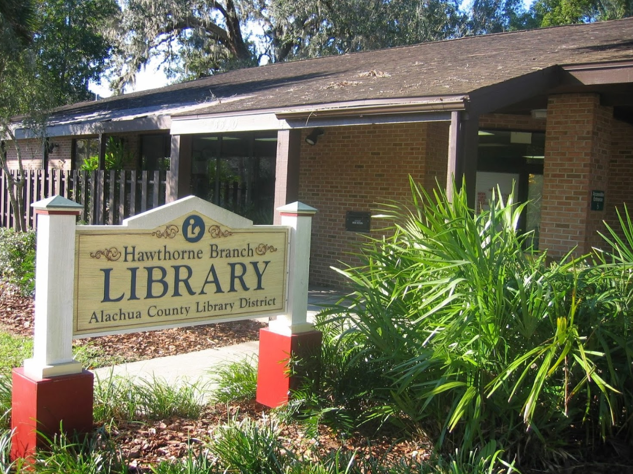 Alachua County Library Hawthorne Branch